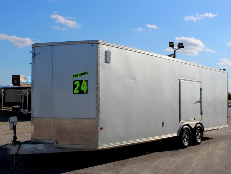<b>SALE PENDING</b> 2015 All Aluminum EZ Hauler Car/Racing Trailer Extruded Floor