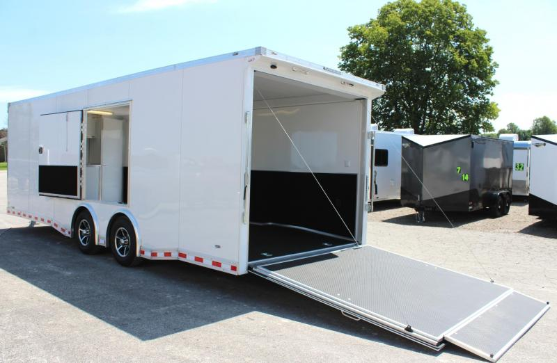 <b>SOLD</b>  2020 24' Millennium Extreme w/Rear Wing/Escape Door Fully Finished Interior Spread Axles