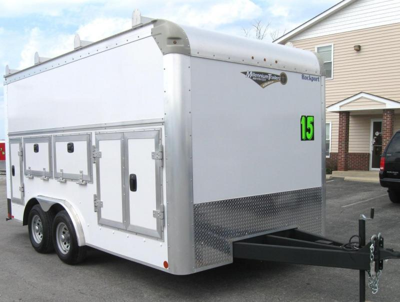 <b>BLOW-OUT SALE SAVE $6000 NOW $15995</b> 2016 8'x15' Work 'n Tow Contractor's DREAM Tool Trailer