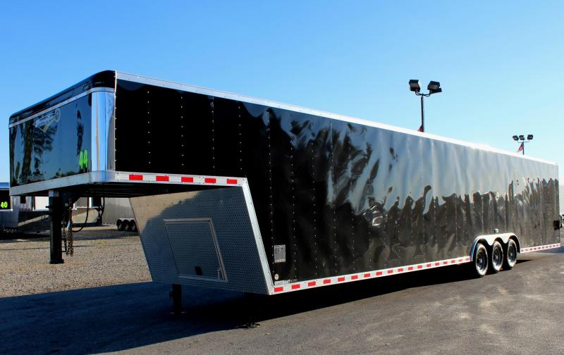 2019 44'  Millennium Star Gooseneck Car / Racing Trailer