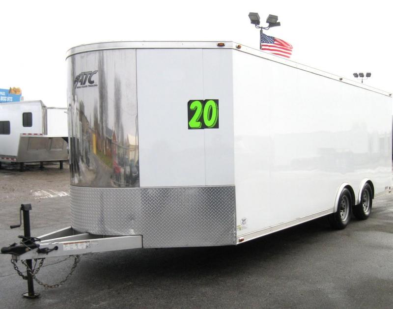USED 2016 20' ATC Quest Aluminum with Cabinets & Flooring