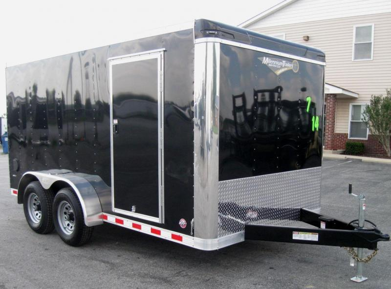 2018 7' x 14' Star 2 5200 Torsion Axles Ramp Door Free Upgrades