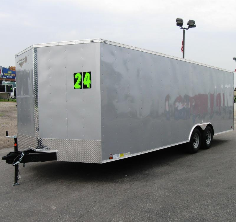 2018 24' Value Hauler Wedge Enclosed Cargo Trailer