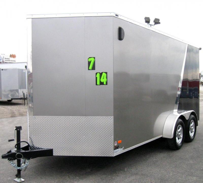 7'x14' Scout Enclosed Cargo with 3 PACKAGES