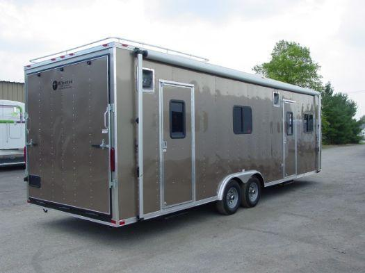2017 Millennium Trailers 28' Command Center Enclosed Trailer
