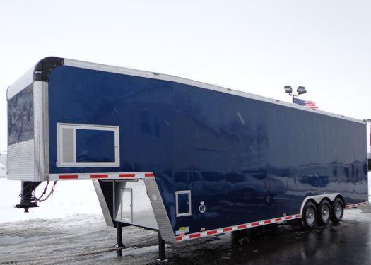 Millennium Trailers 36' Custom Mobile Woodworking Trailer