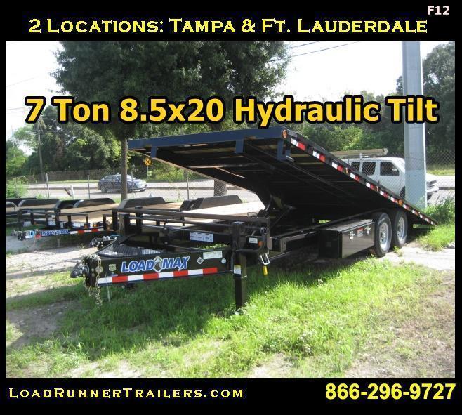 *F12* 8.5x26 Flatbed Gooseneck Trailer Deck Over w/MultiPurpose Dove 8.5 x 26 | FG102-26T7-MPD