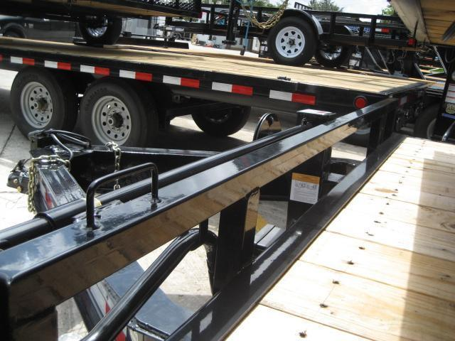 *F13* 8.5x20 Flatbed Deck Over 7 TON Trailers 8.5 x 20 | FC102-20T7-MPD