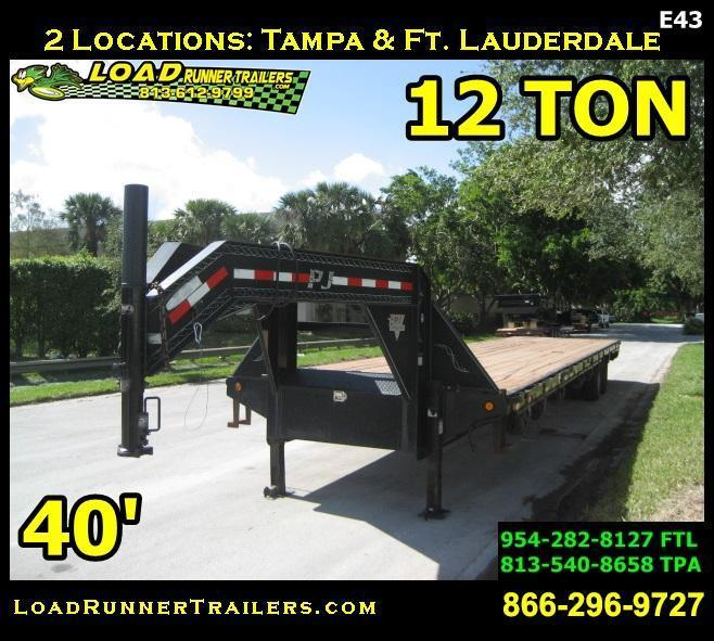 *F98* 8.5x40 12 TON Flatbed Butt End 8.5 x 40 | FG102-40T12-BE