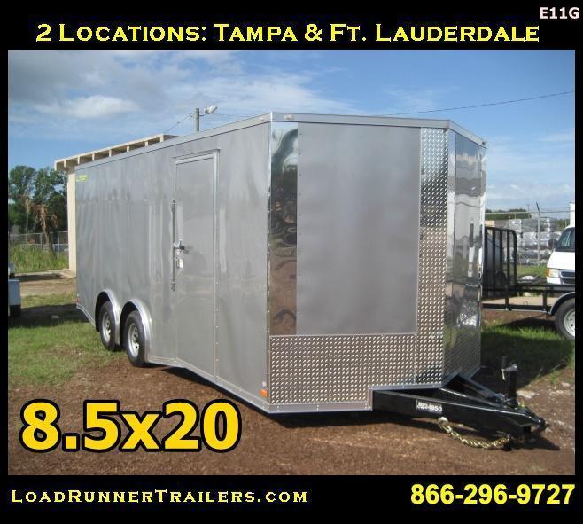 E11G| 8.5x20*Enclosed*Trailer*Cargo*Car*Hauler*|LR Trailers | 8.5 x 20 |E11G