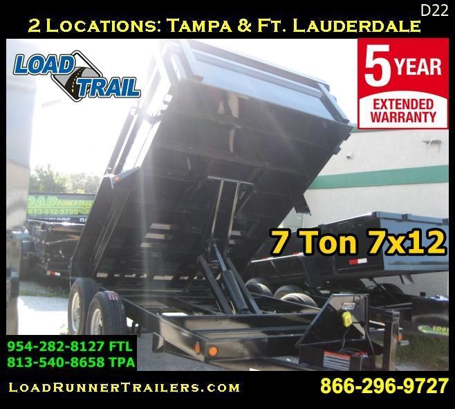 2017 Load Trail d72-12t5-24s