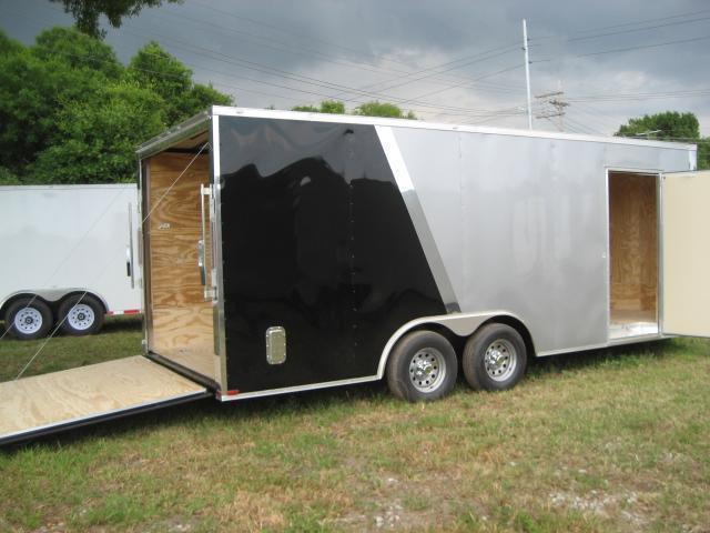 E11C| 8.5x20*Enclosed*Trailer*Cargo*Car*Hauler*|LR Trailers | 8.5 x 20 |E11C