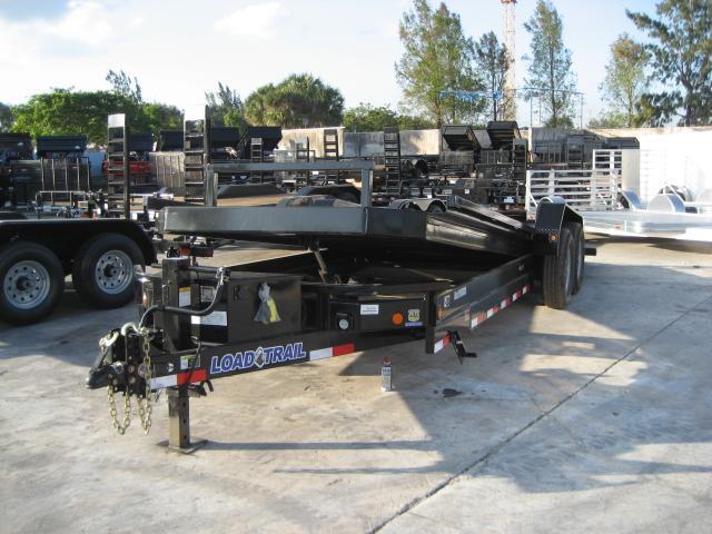 *H70* 7x22 7 TON Load Trail TILT Equipment Hauler Trailer 7 x 22 | T83-22T7T-PT