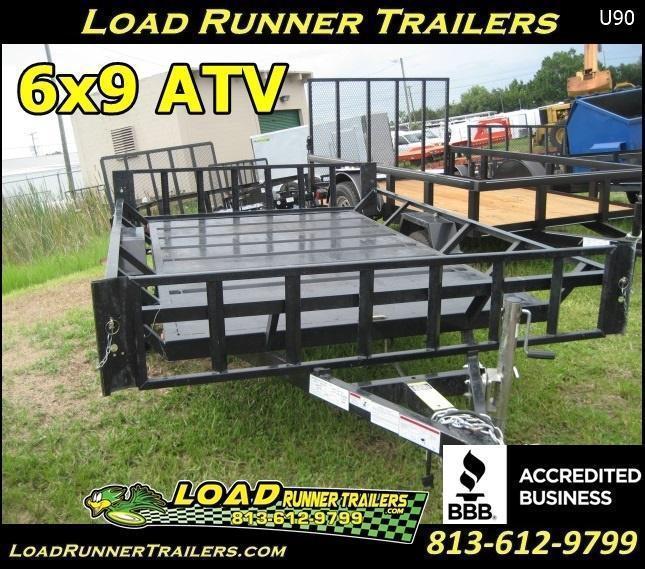 *UU90* 6.5x9 2013 ATV Trailer LR Trailers 6.5 x 9 | U76-9S3-ATV