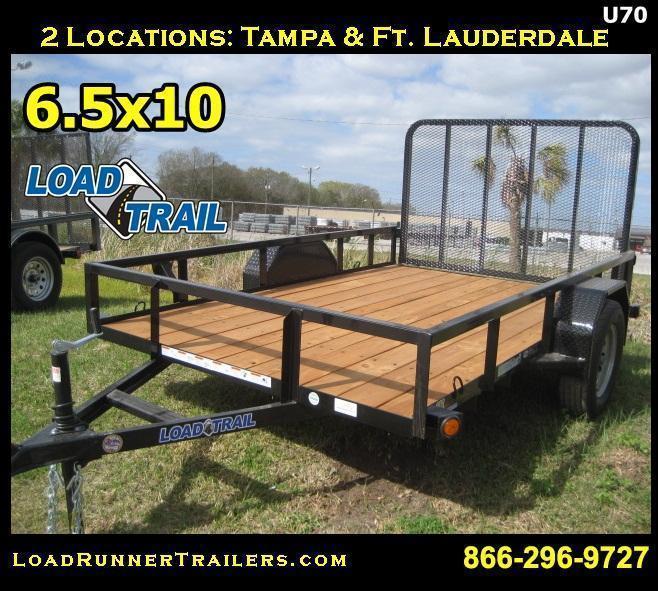 CLEARANCE | 6x10 Utility Trailer | Lawn Maintenance  | U70