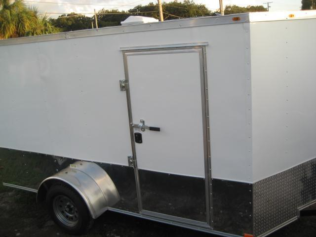 E4G| 6x12 Single Axle*Enclosed*Trailer*Cargo*| LR Trailers | 6 x 12 | E4G