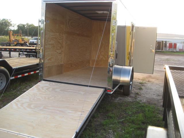 E4F| 6x12 Single Axle*Enclosed*Trailer*Cargo*| LR Trailers | 6 x 12 | E4F