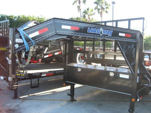 *H46* 8.5x32 Gooseneck Equipment Hauler Trailer |Drive Over Fenders 8.5 x 32 | EQG102-32TT7-DOF/KR