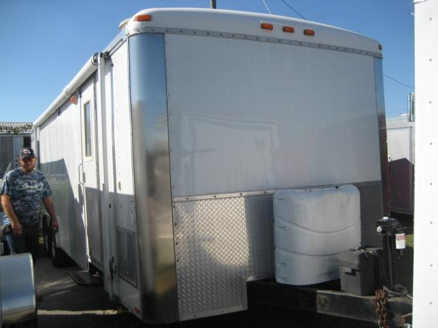 *EU50* 8.5x26 Work N Play Enclosed Cargo Car Hauler Trailer w/Living Quarters 8.5 x 26 | EF8.5-26T5-R