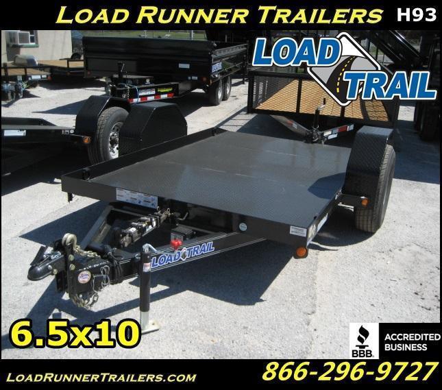 *H93* 6.5x10 Bobcat Hauler Tilt Deck 7K Torsion Axle 6.5 x 10 | T77-10ST7-SD/GT