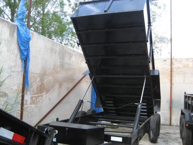 *D14* 7x16 3' Walls Dump Trailer Bumper Pull 14K/7 TON 7 x 16 | D82-16T7-36S/R