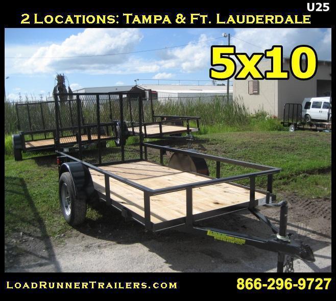 U25| 5x10 Utility Trailer | Load Runner Trailers | U25