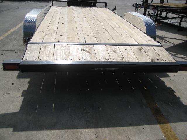 *H15* 7x18 7K Car Hauler Trailer Aluminum Removable Fenders 7 x 18 | CH83-18T3-2B-ARF