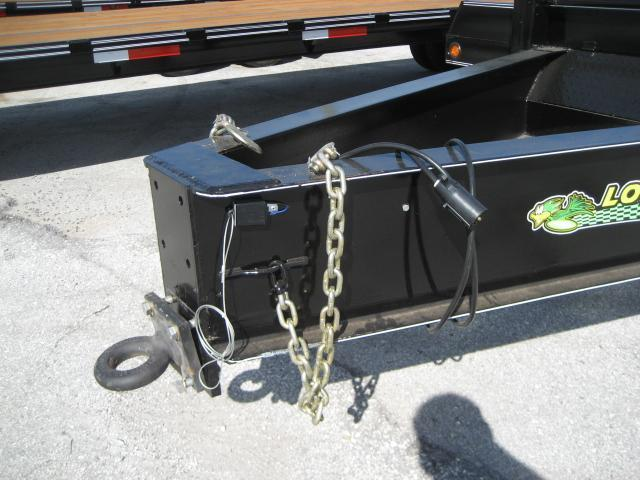 *F65* 25' Pintle 10-Ton Low-Profile Dove Tail Trailer | LR Trailers