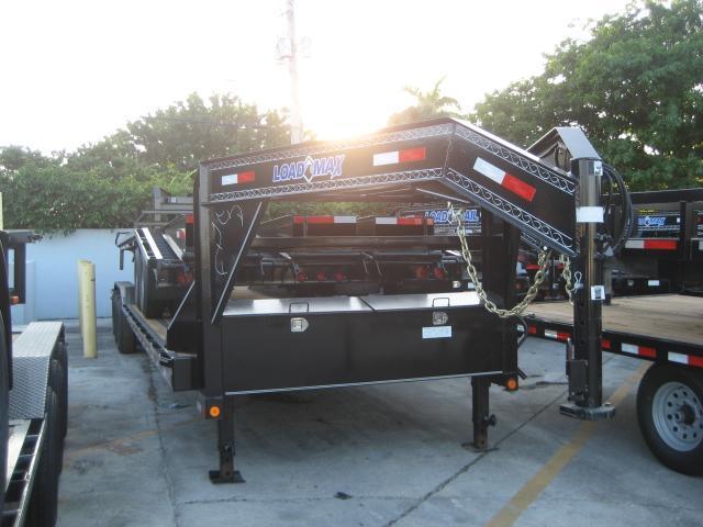 *H83* 8.5x34 Gooseneck Car Hauler Trailer w/Drive Over Fenders 8.5 x 34   CHG102-34TT7-DOF