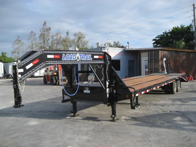 *F40* 8.5x32 12 TON Gooseneck Flatbed Deck Over Trailer|Dove 8.5 x 32 | FG102-32T12-LP/MPD