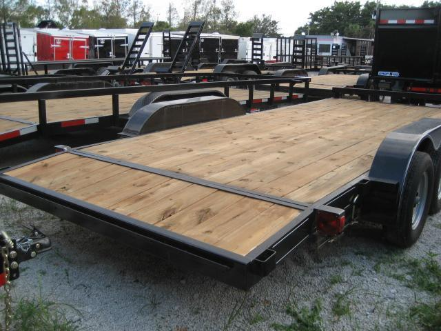 *H57* 7x18 Car Hauler Trailer 7K w/Electric Brakes 7 x 18 | CH82-18T3-1B