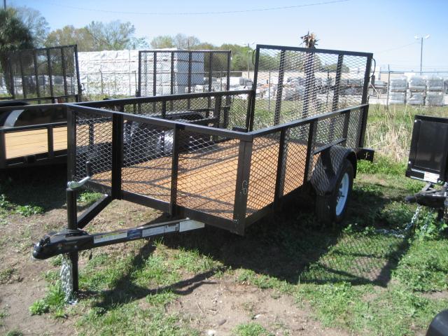 U33 5x10 utility lawn trailer 2 39 24 mesh sides for 5x10 wood floor trailer