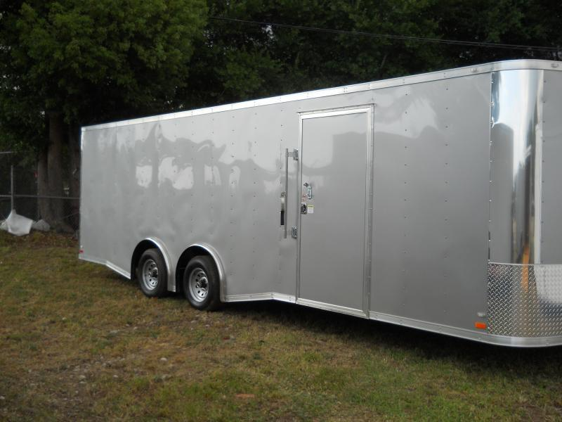 E12E| 8.5x24*Enclosed*Trailer*Cargo*Car*Hauler*|LR Trailers | 8.5 x 24 |E12E