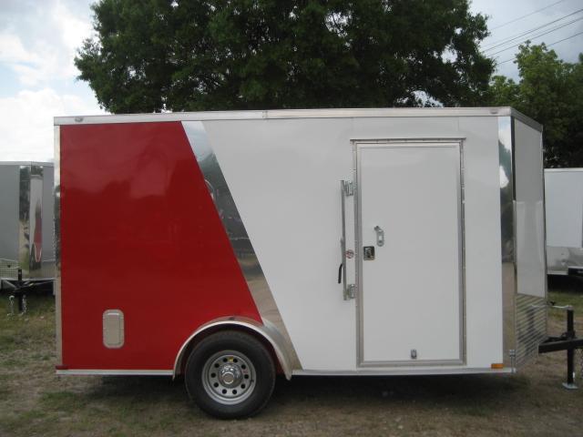 E4D| 6x12 Single Axle*Enclosed*Trailer*Cargo*| LR Trailers | 6 x 12 | E4D
