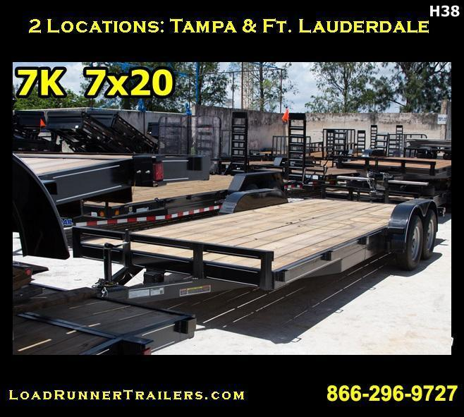 2017 Loadrunner Trailers Trailer CH82-20T3-1B Car / Racing Trailer