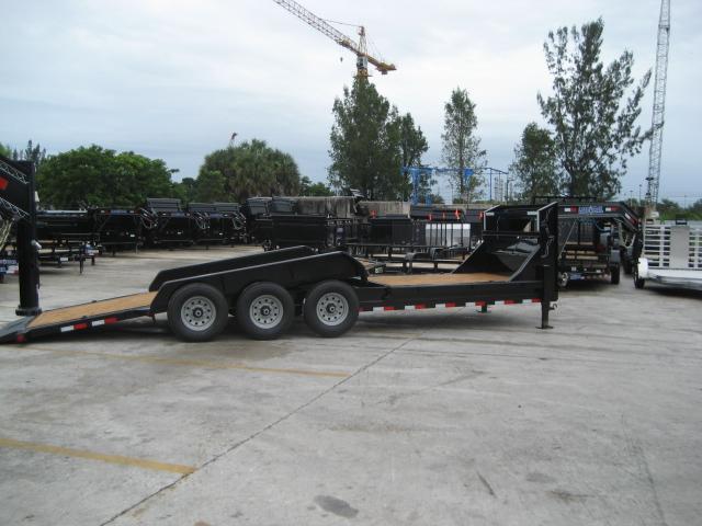 *H17* 7x24 21K TILT Gooseneck Equipment Trailer Hauler 7 x 24 | TG83-16+8TT7T-GT