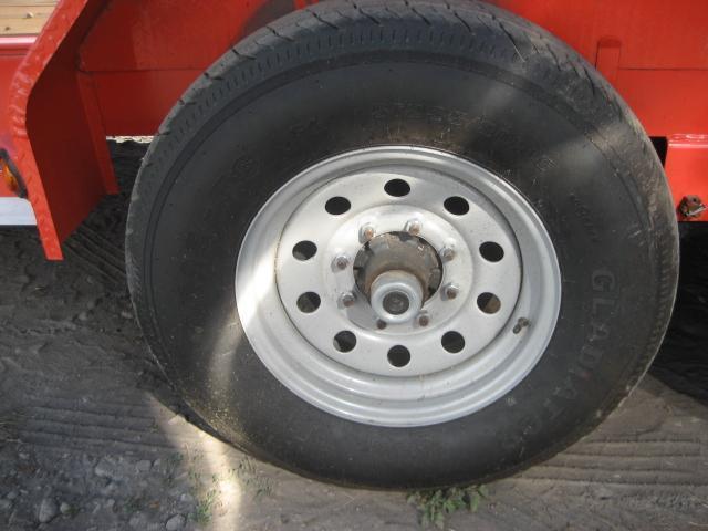 *H39* 7x20 7 TON Car Equipment Hauler Load Trail Trailer 7 x 20   CH83-20T7