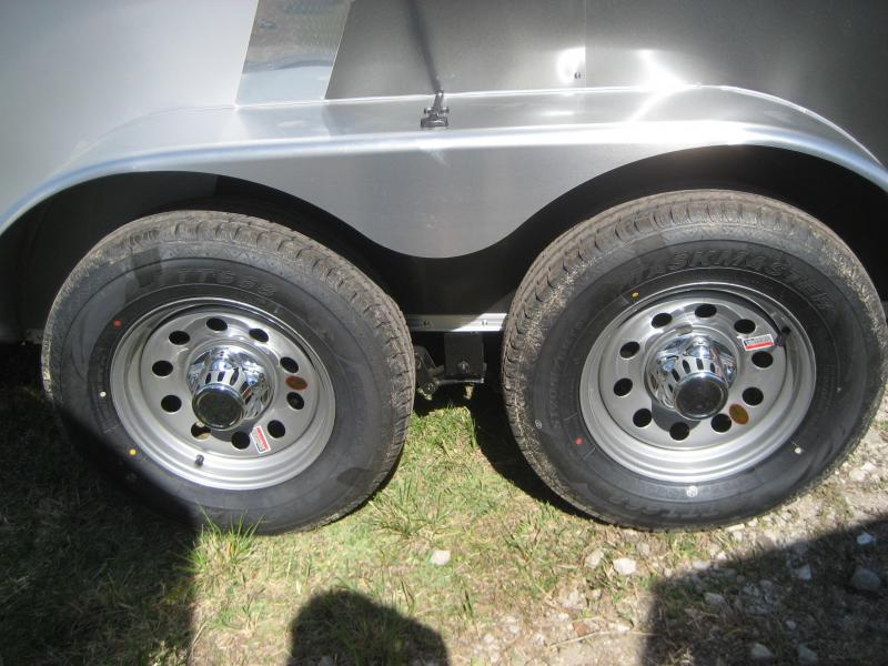 E5 6x12 Tandem Axle Lr Trailers 6 X 12 Enclosed