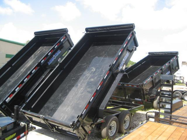 *D24B* LOAD TRAIL DUMP TRAILER | 7x14 7 TON | Load Runner Trailers
