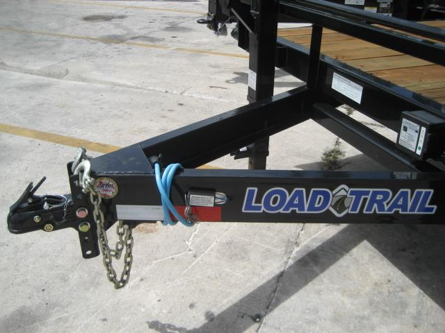 *FC37* 8.5x24 7 TON Flatbed Deck Over  Butt End Trailer  LR Trailers 8.5 x 24   FC102-24T7-BE