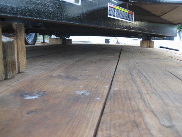 *F38* 8.5x30 Gooseneck Flatbed 7 TON Deck Over w/Multipurpose Dove 8.5 x 30 | FG102-30T7-MPD
