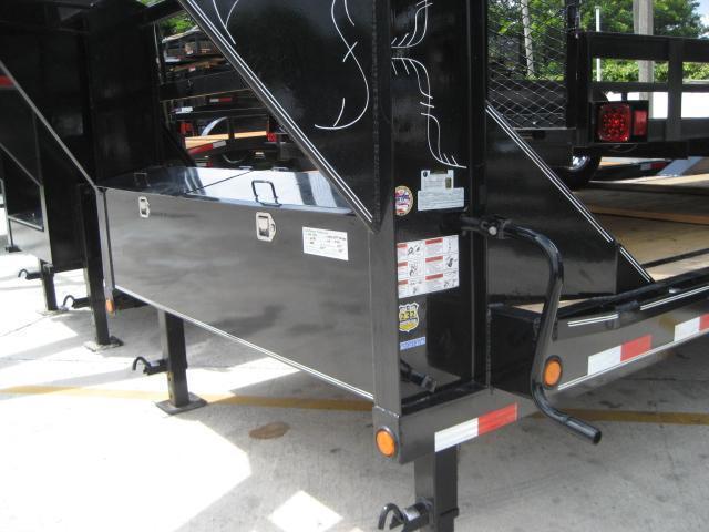 *H90* 8.5x22 Gooseneck Car Hauler Drive Over Fenders   EQ102-22T7-MPD   8.5 x 22