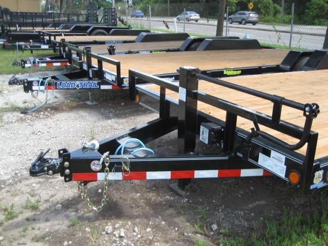 7x20 Car / Equipment Hauler  Trailer w/Removable Fenders 7 TON | H78