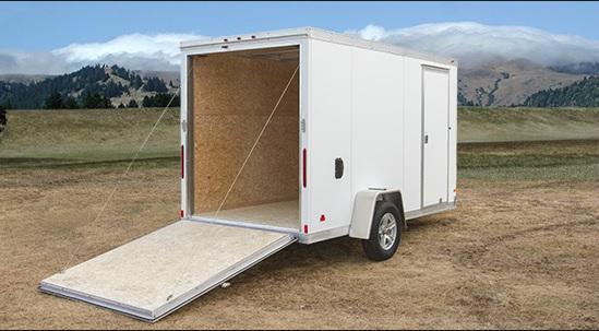 2016 Haulmark HAUV6X12DS  Enclosed Cargo Trailer