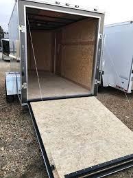 2017 Stealth Trailers 6x12 Aluminum W Ramp Enclosed Cargo Trailer