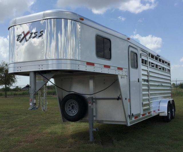 2017 Exiss Trailers EXPRESS 20 FT. STOCK COMBO Livestock Trailer