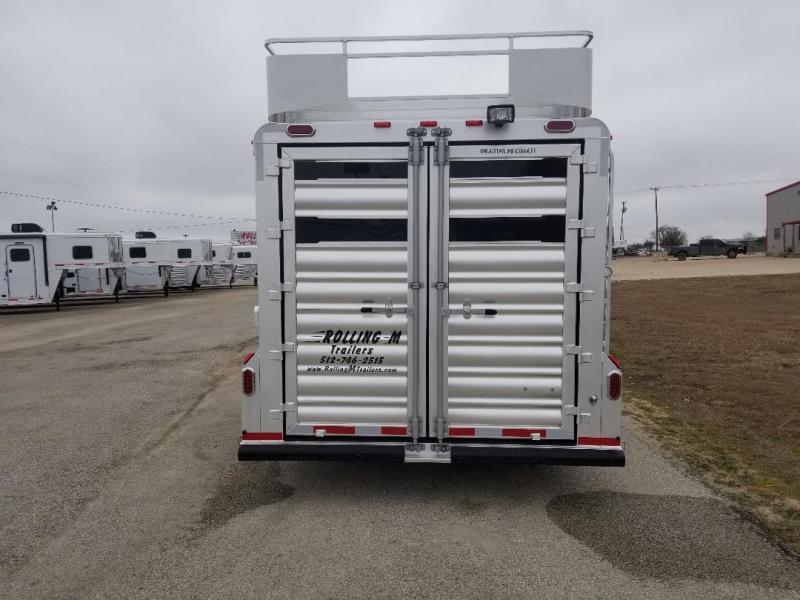 2018 Platinum Coach 2018 6H Stock Horse Trailer