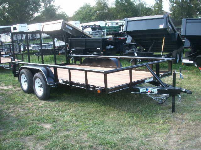 2015 Texas Bragg Trailers 14 LANDSCAPING Utility Trailer