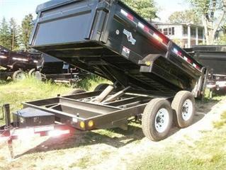 2015 Load Max 12 Heavy Duty Dump Trailer