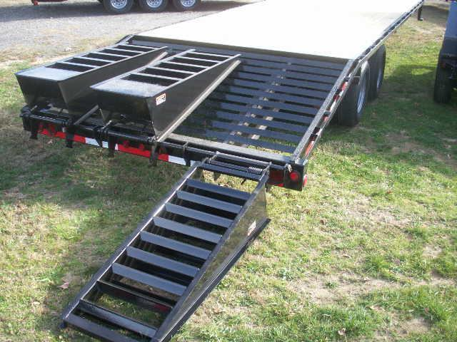 2017 Load Max GN24 22400 GVWR Equipment Trailers